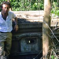 1988, Henri Mouhot's Tomb, Laos
