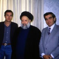 1988, with Grand Ayatollah Fadlallah in Beirut