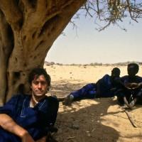 1989, resting after a camel journey, Niger