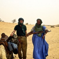 1992, going to Timbuctu with Tuareg fighters, Northern Mali