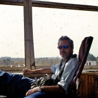 2001, in the control tower at Baghram Air Base, Afghanistan