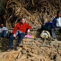 2002, on the Maoist trail, Nepal