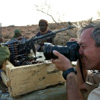 2004, with the fighters in Darfur, Sudan