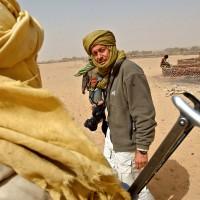 2004, at work in Darfur, Sudan