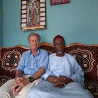2013, with the Imam, Jos, Nigeria