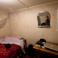 2013, my room in Masisi, RDC