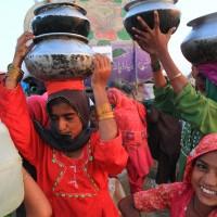Water is life, Sindh, Pakistan, November 2010